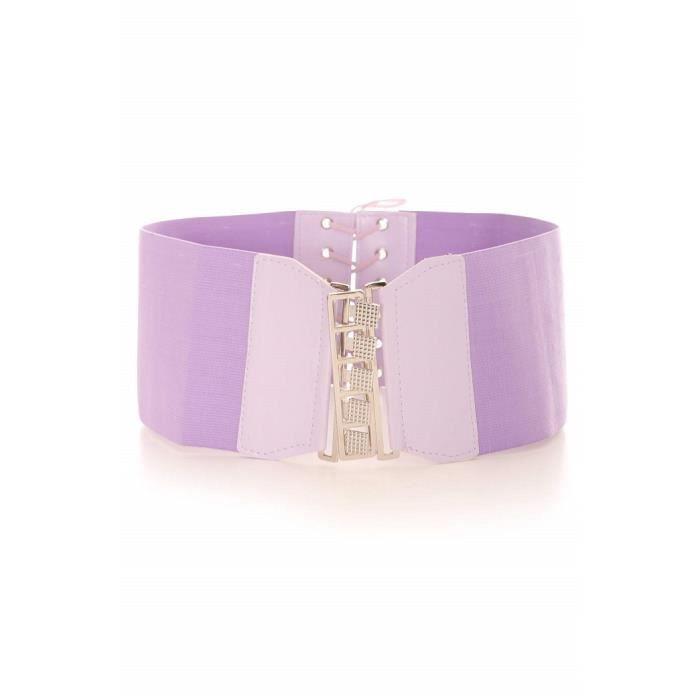 Ceinture large violette Violet Violet - Achat   Vente ceinture et ... 6235966381c