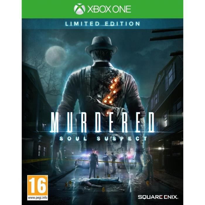 JEUX XBOX ONE Murdered Soul Suspect Limited Edition Jeu Xbox One