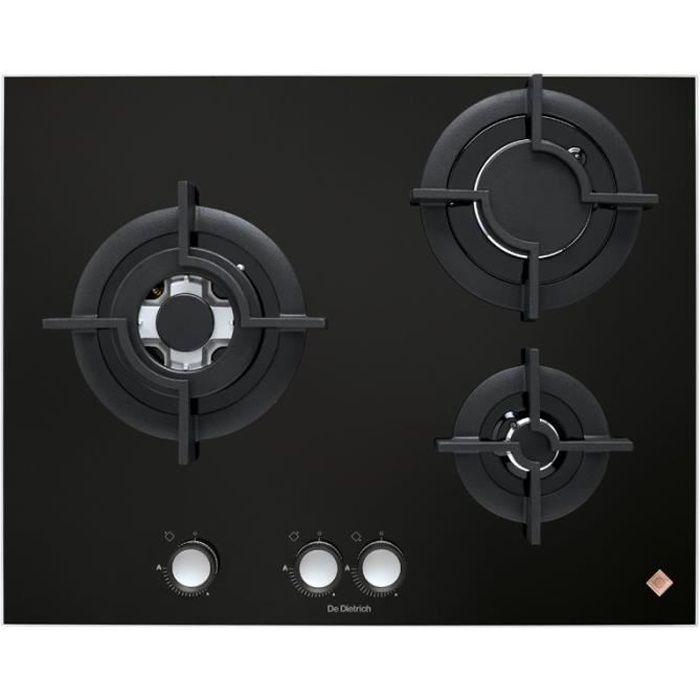 plaque de cuisson gaz de dietrich achat vente pas cher cdiscount. Black Bedroom Furniture Sets. Home Design Ideas