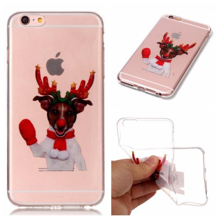 7e6581de603 Angel Gants rouges wapiti Coque en TPU Case pour Apple iPhone 6 - iPhone 6s  (4.7