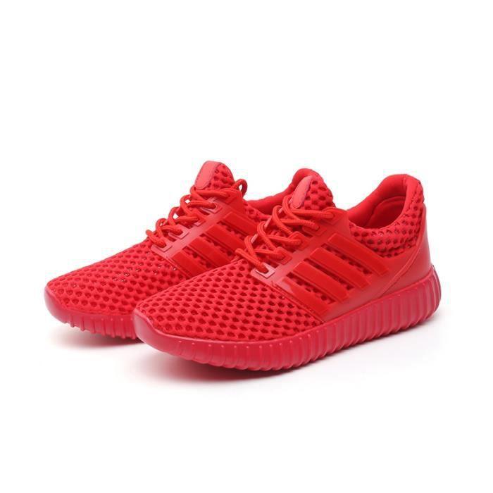 Basket Femmes Chaussures de sportFeminine Respirante Chaussure Nouveau Mode Rouge ®KIANII JxszlI