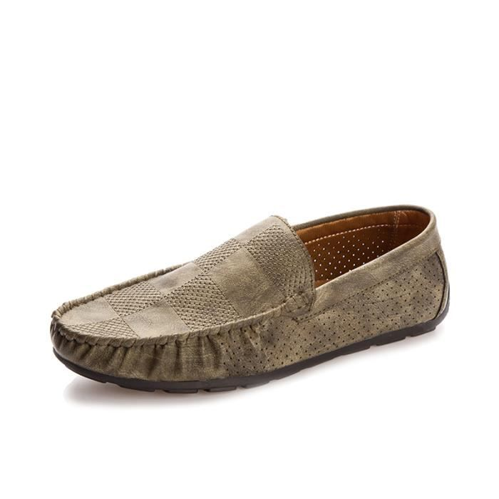 Casual Mocassins Homme cuir Chaussure Driving Chaussure chaussures Pois 0rMnaa