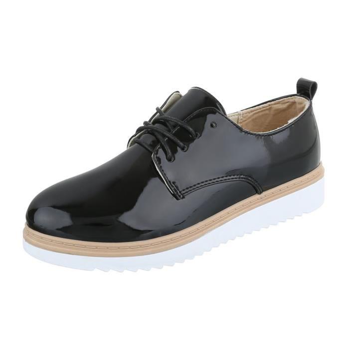 homme chaussures flâneurs cuir lacer Bleu foncé 41 244VYMfqC