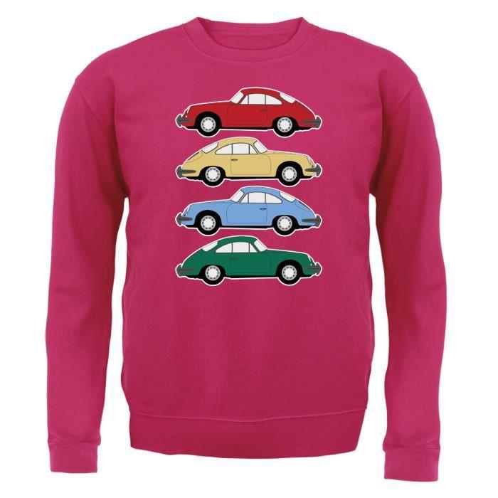 12 Dressdown Porsche Xxl 4 Rose Couleurs 356 Enfant Sweat 48OrH4wq