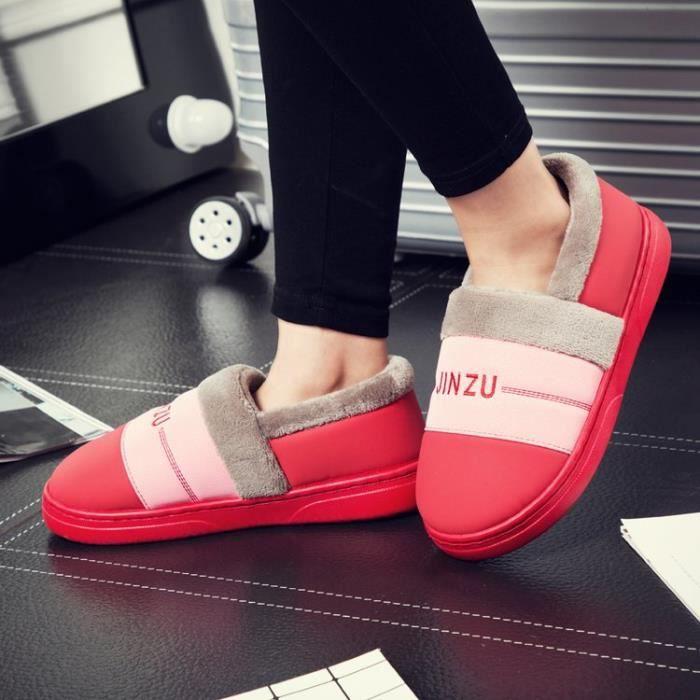 Femmes Hiver Coton Chaussures coton Hommes Casual Sports en Bottes Wg4qzq