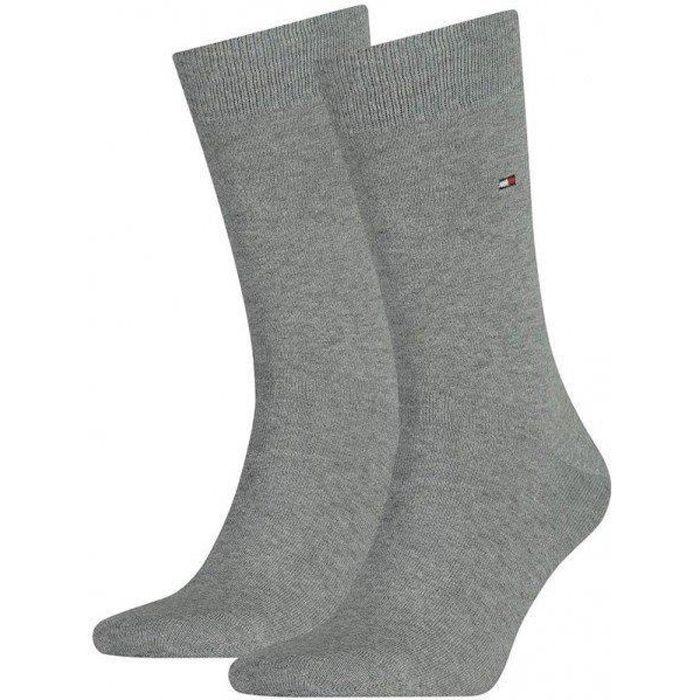 36337446ced TOMMY HILFIGER Lot de 2 paires de Chaussettes Homme Coton CLASSIC Souris