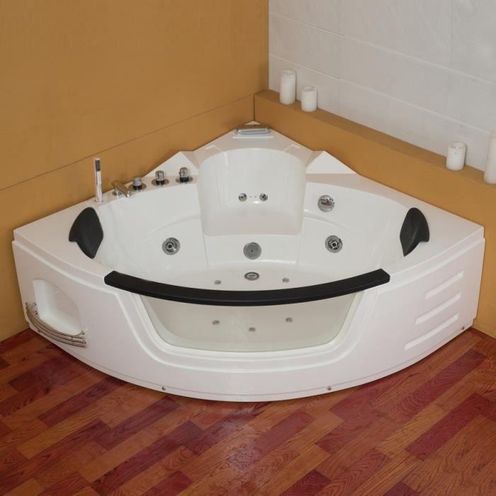 baignoire d angle balneo achat vente baignoire d angle. Black Bedroom Furniture Sets. Home Design Ideas