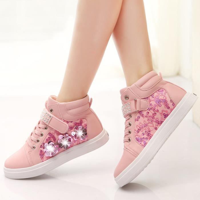 Enfants Chaussures baskets filles Mode Chaussures de sport