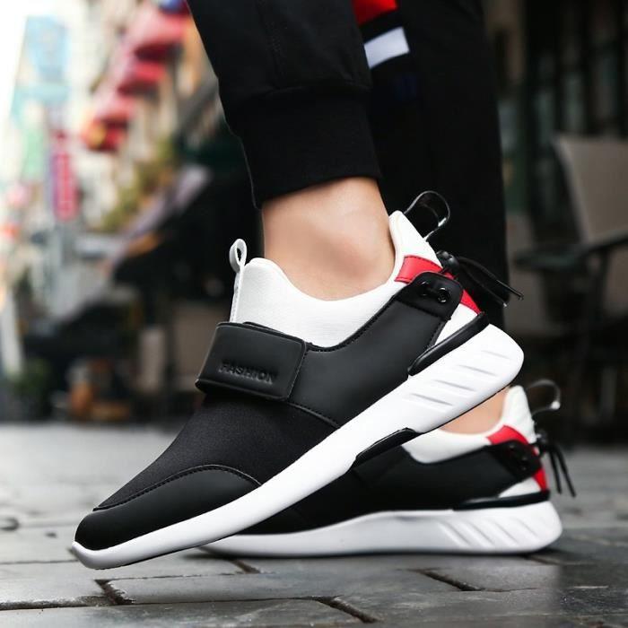 chaussures multisport Homme de sport étudiantrésistance à l'usure noir taille8
