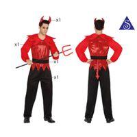 DÉGUISEMENT - PANOPLIE Costume de diable, t3 adulte