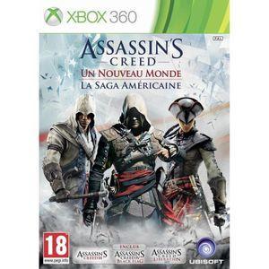 JEU XBOX 360 Compilation Assassin's Creed Saga Américaine X360