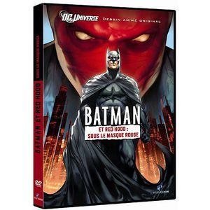 DVD DESSIN ANIMÉ DVD Batman et Red Hood: sous le masque rouge