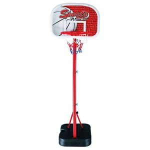PANIER DE BASKET-BALL Panier de BASKET sur pied - Hauteur 140-166cm - Ré