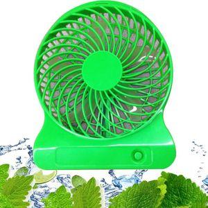 CAMÉRA DE SURVEILLANCE 5-INCH portable rechargeable Ventilateur Cooler Mi