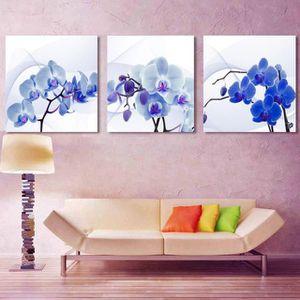 Toile de fond bois et fleurs achat vente pas cher for Tableau imprime sur verre