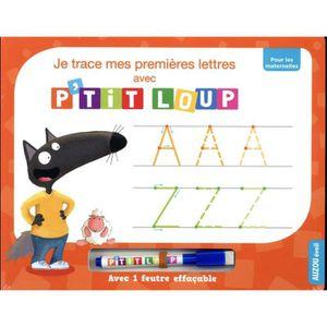 a9cd15c2fb3 MANUEL MATERNELLE Livre - je trace mes premières lettres avec P tit