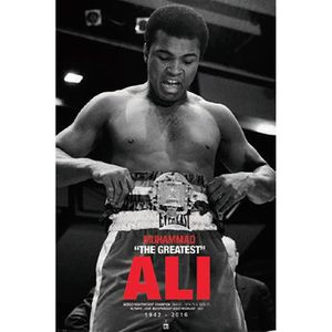 AFFICHE - POSTER Poster Muhammad Ali The Greatest 1942 - 2016