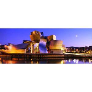 PUZZLE Puzzle 1000 pièces panoramique : Musée Guggenheim