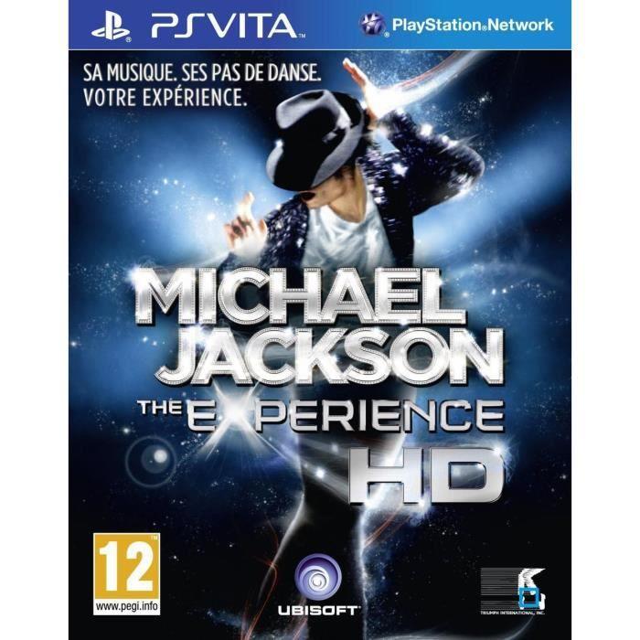 JEU PS VITA Michael Jackson Experience - Jeu PS Vita