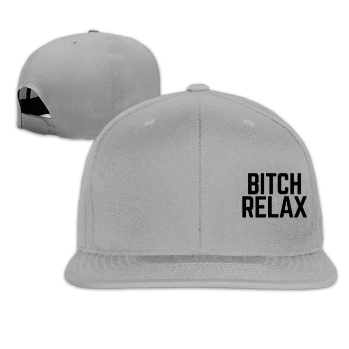6dcc4fcc716 Bitch Relax Hip Hop Flat Caps Ash - Achat   Vente casquette ...
