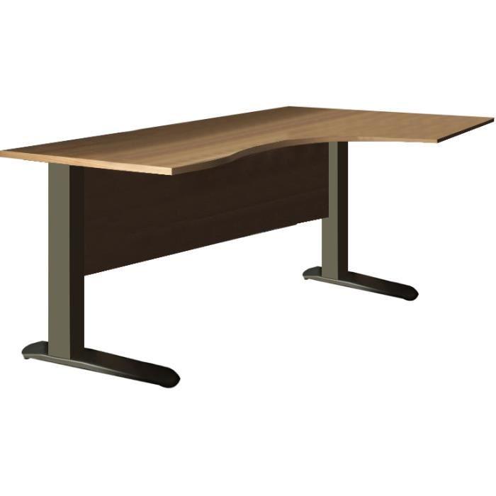Bureau pied metal excellent pied pour bureau plateau lovely pied pour bureau beautiful pied - Pied pour bureau plateau ...