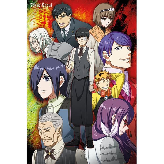 Poster Tokyo Ghoul Decoration Murale