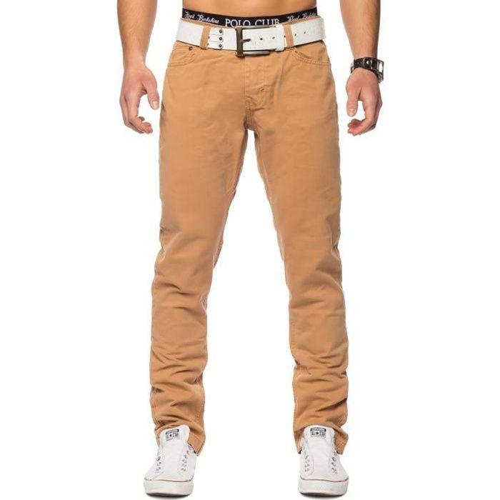 Denim Chino Pantalon Jeans Hommes plusieurs D'entrejambe Couleurs qEwdWa4n