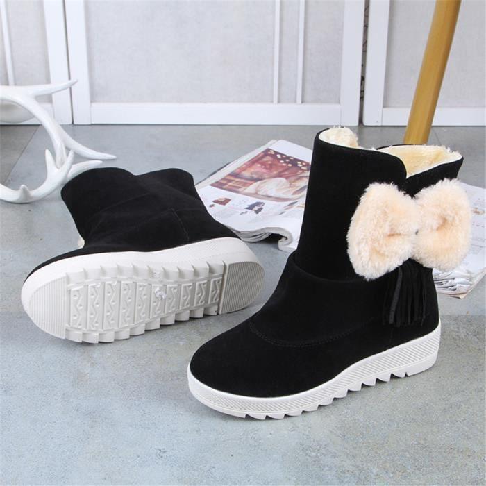 35 Chaussures Qualité Hhx Nouvelle Durable marron Noir Femmes 40 Super Mode Haut Bottines 1pqntR6w8