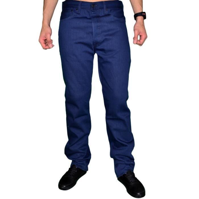 119b6c8581e Levis - Jean - Homme - 501 Shrink-to-Fit Cartonné - Cobalt blue ...