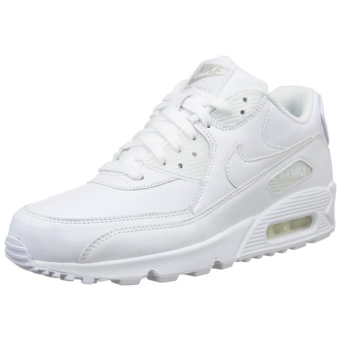1bt5sh En 90 Pour 46 Max Air Taille Nike Cuir Chaussures Homme wNnm8v0