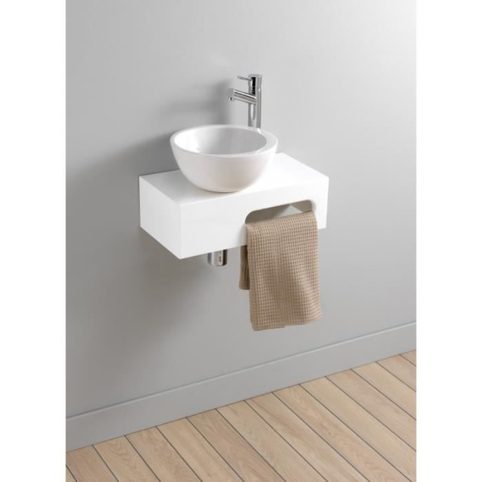 kit lave mains complet venize blanc achat vente. Black Bedroom Furniture Sets. Home Design Ideas