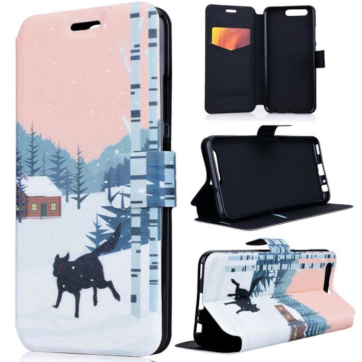 coque magnétique huawei p10