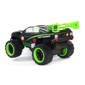 VOITURE - CAMION 4x4 RC Off-Road Cross Country 4 canaux (Noir-vert