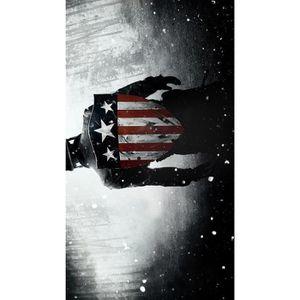 AFFICHE - POSTER Captain America Le Premier Avenger Film Art Soie A