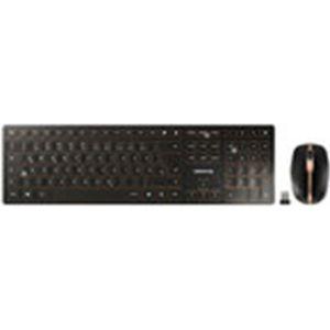 PACK CLAVIER - SOURIS Cherry DW 9000 Slim - Ensemble sans fil (connectiv