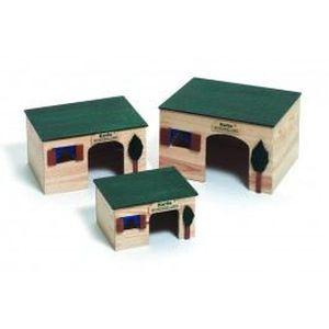 ACCESSOIRE ABRI ANIMAL Maison pour rongeurs House Ecco Longueur 26 cm …