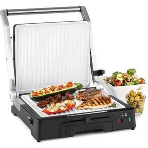 BARBECUE DE TABLE Klarstein Burgermeister 3en1 Barbecue grill de tab