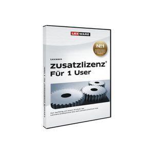 BUREAUTIQUE Lexware Zusatzlizenz 2017 Ensemble de boîtes 1 uti
