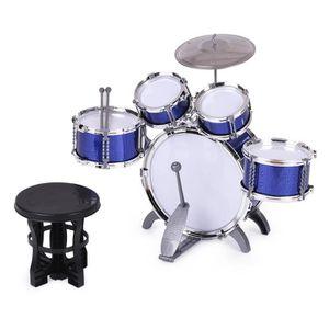 BATTERIE Batterie Ensemble de tambour Jouet Instrument de m