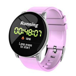 MONTRE CONNECTÉE Montre intelligente montre-bracelet pour femmes, f