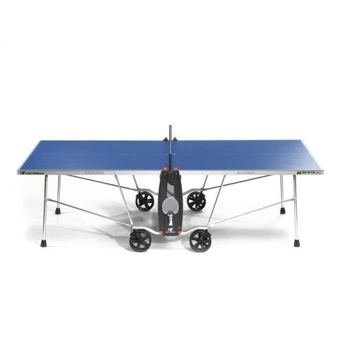 CORNILLEAU Table de tennis de table Outdoor 100 S Crossover - Bleu