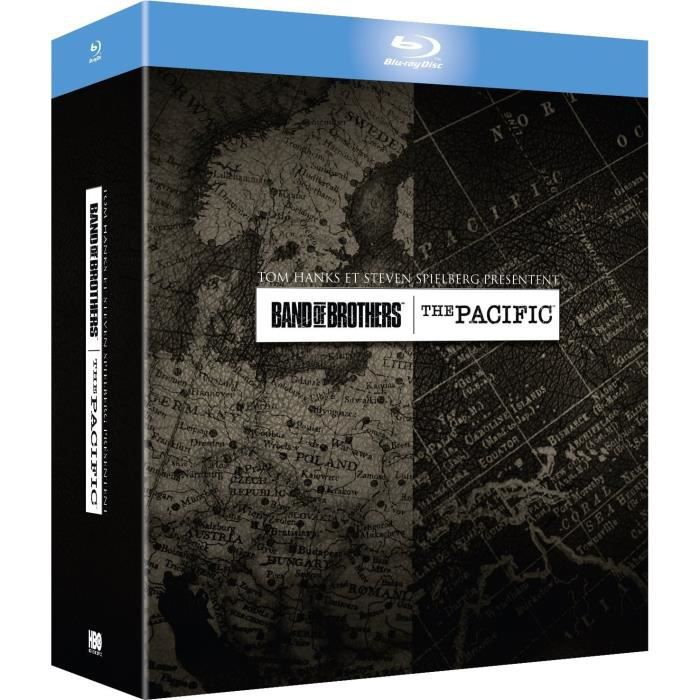 Coffret Band of brothers et The Pacific - En Blu-ray