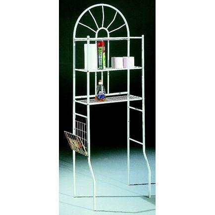 60x25x173 cm - Structure en métal - 3 étagères - A poserCOLONNE WC - ARMOIRE WC - COFFRAGE WC - PONT WC