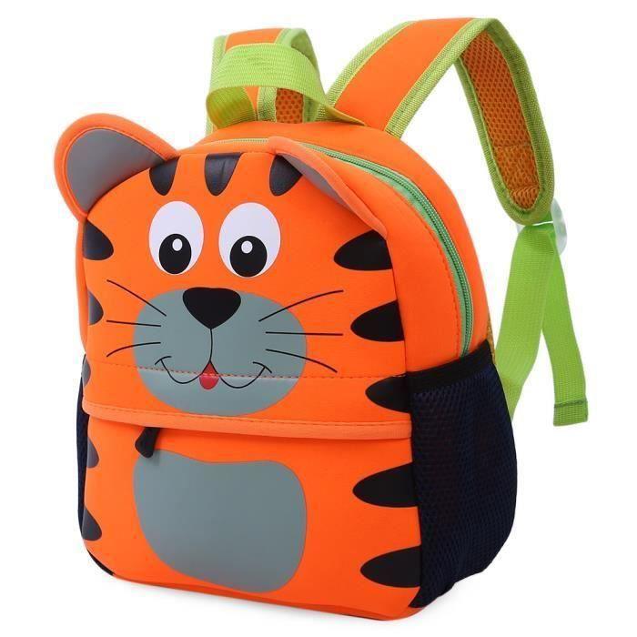 animaux colorés étanches dessin animé pour les enfants ou le sac d'école durable XC790