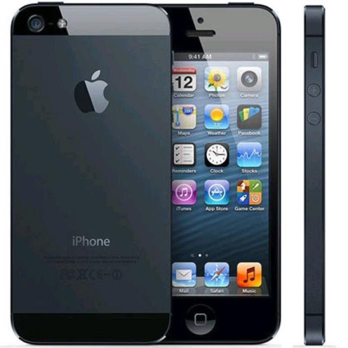 SMARTPHONE IPHONE 5S 16GO NOIR