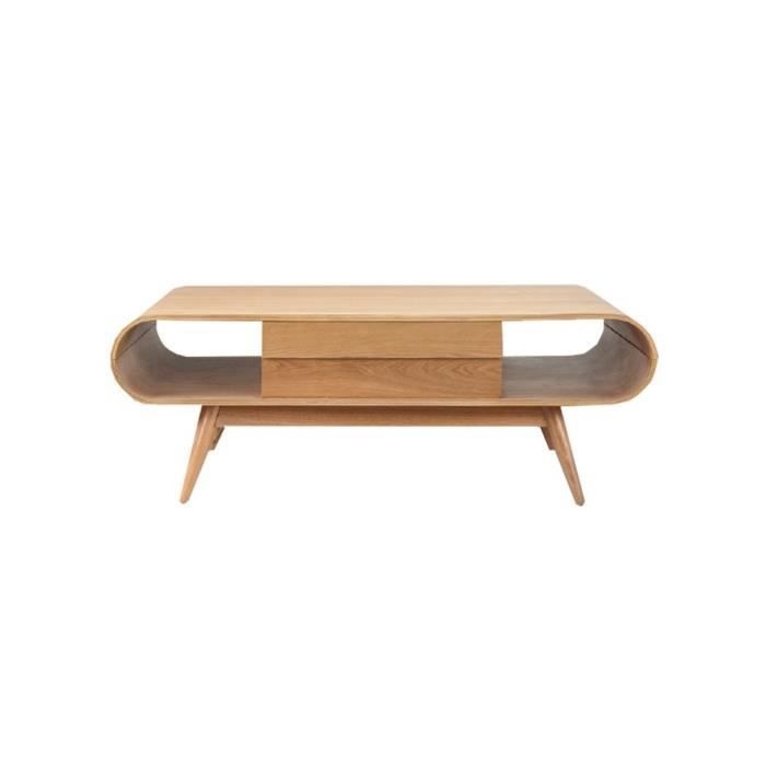Table basse en bois avec tiroirs achat vente table - Table basse avec tiroir pas cher ...