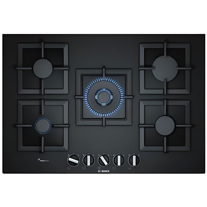 PLAQUE GAZ PPQ7A6B20 - Table de cuisson gaz - Bosch