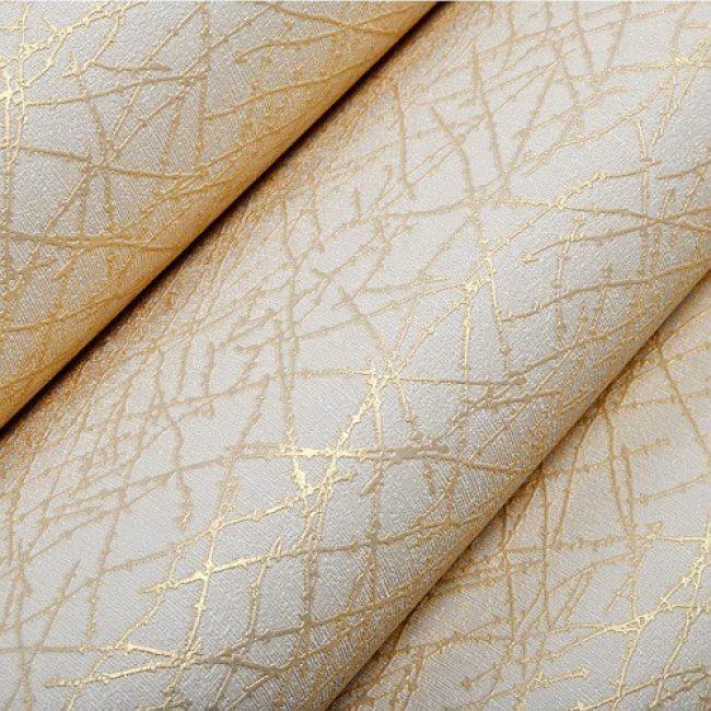 Papier Peint De Couleur Moderne Geometrique Avec Rayures Texture