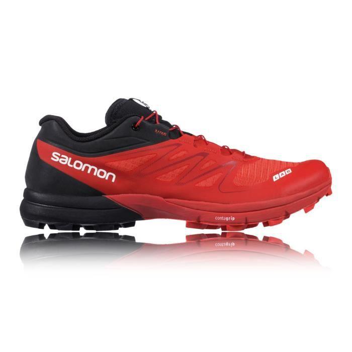 f2b462eea47 Salomon S-Lab Sense 5 Ultra Sg Chaussures De Course Trial Multicolore Homme