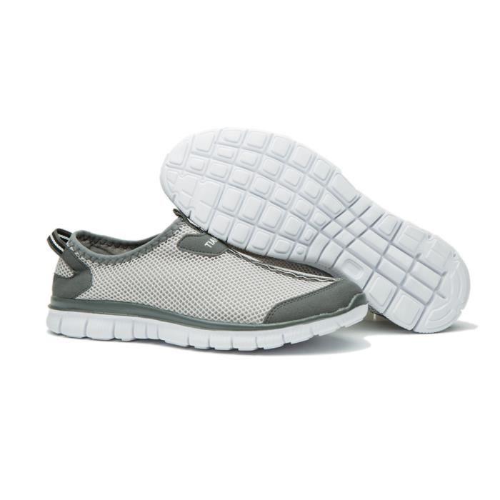 Grande ete 2017 homme chaussures De Nouvelle brand Luxe chaussure Mode sport qualité De hommes Taille Marque baskets mocassins Haut FXSqRIaI
